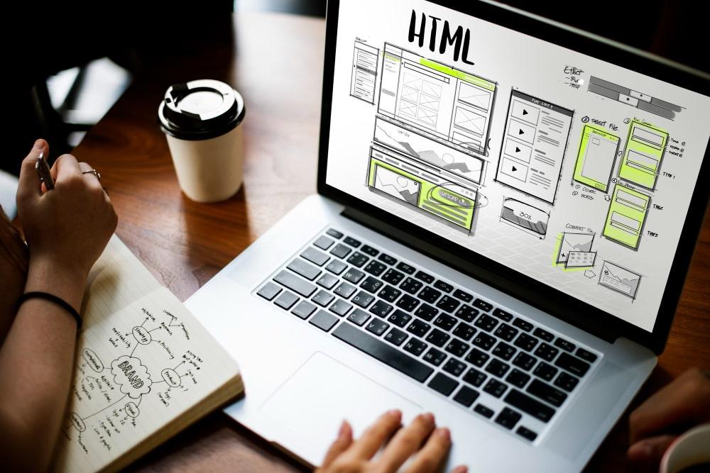 web design html